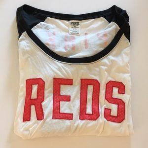 PINK Cincinnati Reds MLB Long Sleeve